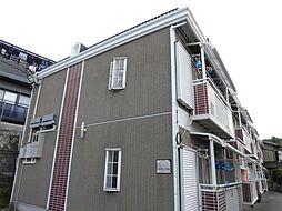 大阪府東大阪市五条町の賃貸アパートの外観