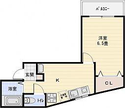 ベルハイツ[3階]の間取り