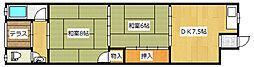 [タウンハウス] 大阪府大阪市福島区吉野3丁目 の賃貸【/】の間取り