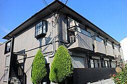 サンハイツUNO[1階]の外観