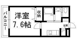リヴィックスマンション[0408号室]の間取り