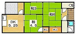 [タウンハウス] 大阪府枚方市上島町 の賃貸【/】の間取り