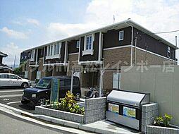 香川県木田郡三木町大字上高岡の賃貸アパートの外観