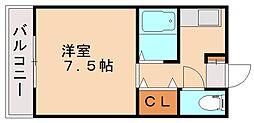 シード88[1階]の間取り