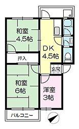 101マンション[207号室]の間取り