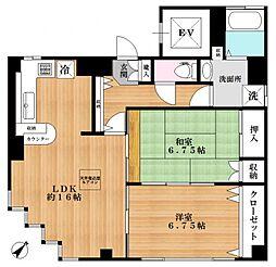 にいのビル[3階]の間取り