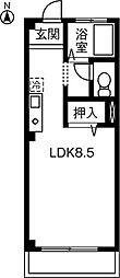 ミノタハイツ出川II[306号室]の間取り