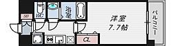 インザグレイス桜ノ宮[4階]の間取り
