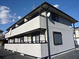 埼玉県久喜市栄1丁目の賃貸アパートの外観