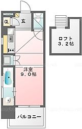 アクイラウラヤスウノ/Aquila Urayasu Uno[1003号室]の間取り