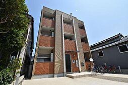 愛知県名古屋市港区南十番町4丁目の賃貸アパートの外観