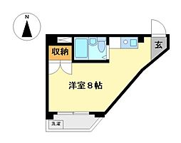 JIIビル[4階]の間取り