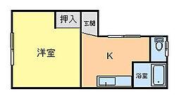 【敷金礼金0円!】コーポパルテノン