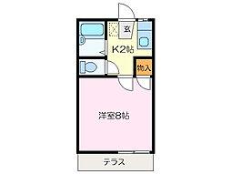M・HOUSE 南[1階]の間取り