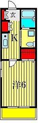 トラス青戸[1階]の間取り