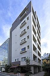 東京都新宿区築地町の賃貸マンションの外観