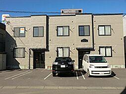 北海道札幌市東区北四十条東16丁目の賃貸アパートの外観