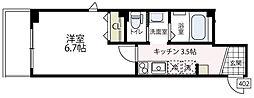 (仮称)ビューノ伊勢町[3階]の間取り
