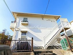 神奈川県藤沢市鵠沼藤が谷4丁目の賃貸アパートの外観