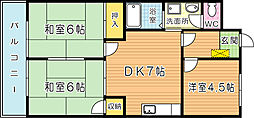 シャトレ中井[503号室]の外観