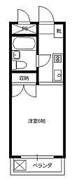 レジデンス小川[4階]の間取り