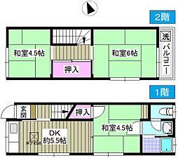 [一戸建] 大阪府大阪市大正区泉尾5丁目 の賃貸【/】の間取り