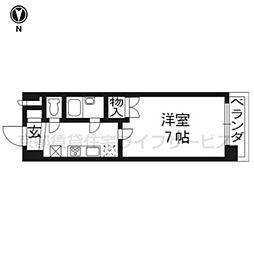 早川マンション[306号室]の間取り