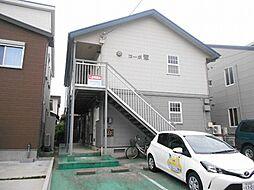 新潟県新潟市中央区日の出1丁目の賃貸アパートの外観
