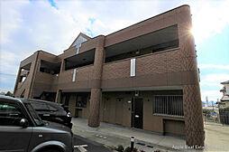 福岡県北九州市若松区東二島2丁目の賃貸アパートの外観