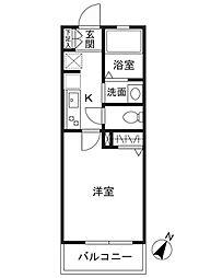 シーズ・レフィネ16[2階]の間取り