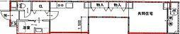Osaka Metro御堂筋線 心斎橋駅 徒歩18分の賃貸マンション 11階1LDKの間取り