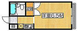 プレアール砂道町[3階]の間取り