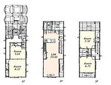 建物参考プラン:間取り/2LDK2S、延床面積/117.78?、土地建物参考価格/7480万円(税込)\n