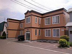 北海道札幌市手稲区富丘一条7丁目の賃貸アパートの外観