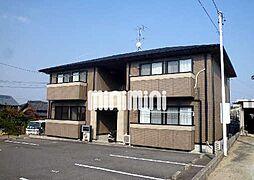 愛知県豊田市竹元町福田の賃貸アパートの外観