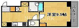 PAL西円町[305号室号室]の間取り