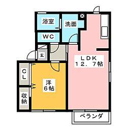 CREA[2階]の間取り