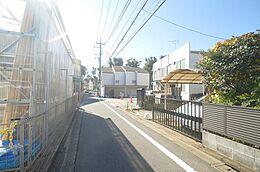 前面道路写真