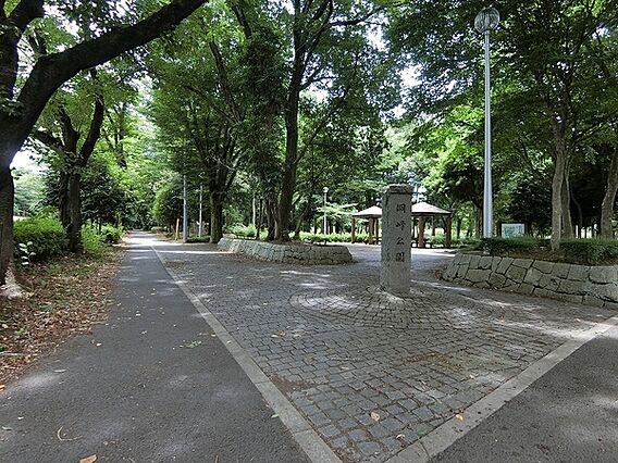 洞峰公園まで1...