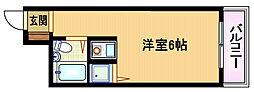 大阪府大阪市都島区都島北通2丁目の賃貸マンションの間取り