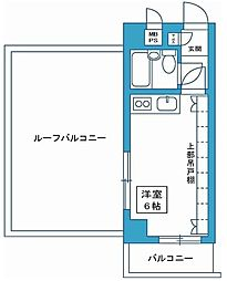 東京都板橋区前野町2丁目の賃貸マンションの間取り