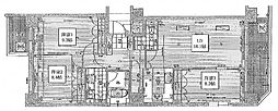 リーガル四ツ橋立売堀II[12階]の間取り