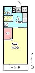 シティタウン久永No.2[4階]の間取り
