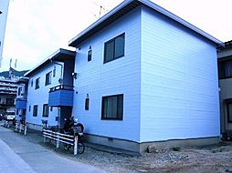 広島県呉市広白岳2丁目の賃貸アパートの外観