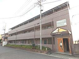 埼玉県草加市長栄3丁目の賃貸マンションの外観