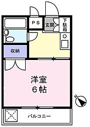 レナジア京成大久保[3階]の間取り
