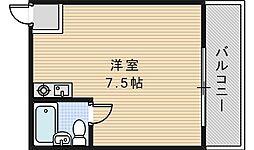 ラシーヌ三明町[601号室]の間取り
