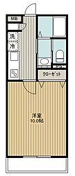 SAKASU SIROGANE[206号室]の間取り