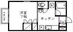 新潟県新潟市西区坂井砂山4丁目の賃貸アパートの間取り