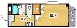 レスポワール太田[3階]の間取り